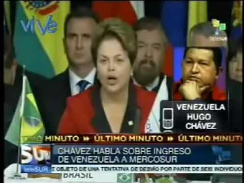 Hugo Chávez Incorporación de Venezuela al Mercosur tendrá un gran impacto geopolítico | PopScreen