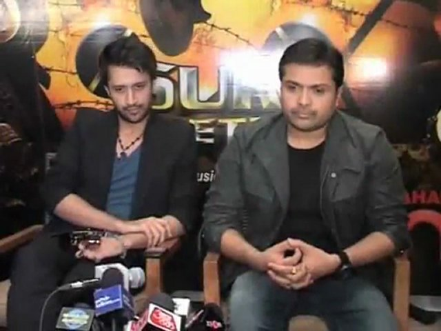 Himesh - Atif At Sahara One's New Show 'Sur Kshetra' Launch - Bollywood Videos - DesiTvForum.Net | PopScreen