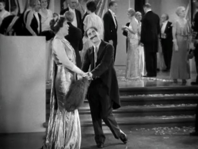 Rufus T. Firefly is the new leader of Freedonia Part 2 from Duck Soup (1933)