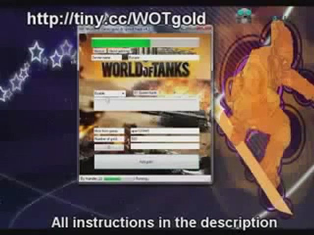 World Of Tanks - Gold Hack Cheat - February 16, 2012 Update