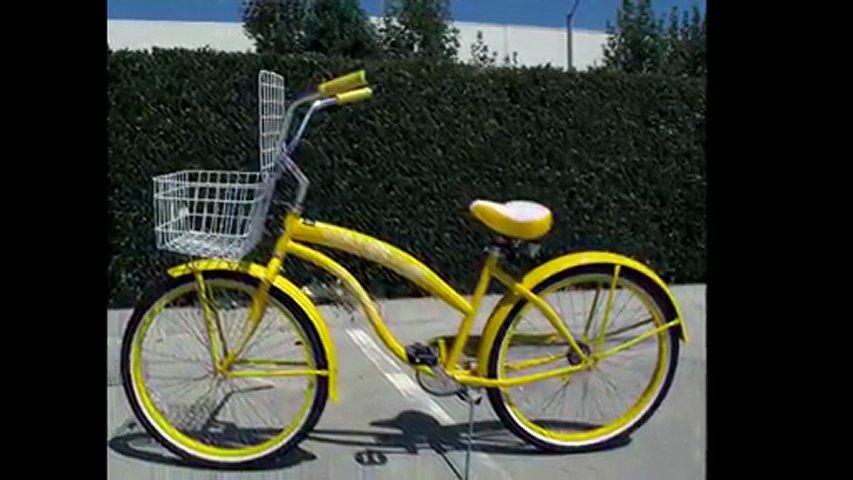 Beach Cruiser Bike Basket Popscreen
