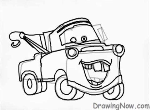 Cars mater wallpapers wiring source for Coloring pages tow mater