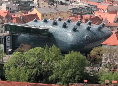 Museum Graz Visit The Graz Art Museum in