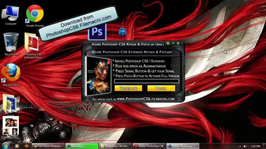 Adobe Photoshop CS6 Extended ( Keygen Crack ) FREE Download Mac & Pc