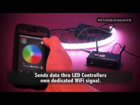 RGB LED Strip Wifi Controller System | PopScreen