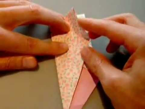 How to make an Origami Gift Box.flv | PopScreen