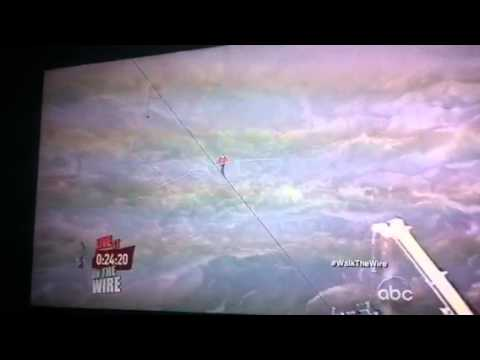 Walk the Wire on ABC Niagara Falls Rope Walker Nik Wallenda 2 | PopScreen