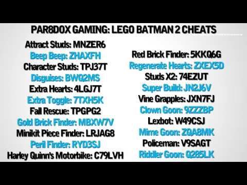 Lego Batman 2 Cheats Xbox 360