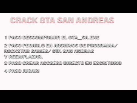 San andreas crack