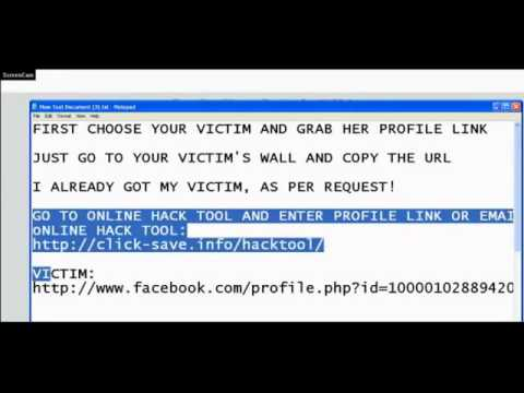 Hacking Facebook Passwords No Download.webm | PopScreen