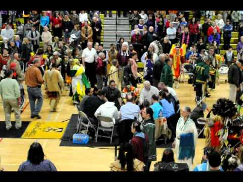 2012 Morning Star Pow Wow Grand Entry - Veteran's Song | PopScreen
