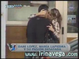 Maria Lapiedra y Dani Lopez en Esta pasando 03-10-2008 | PopScreen