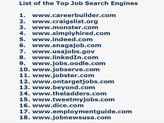 Looking for work in australia, top job search engines list, fun ...