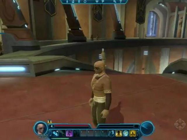 Star Wars: The Old Republic Walkthrough - Jedi Knight Thousand Steps