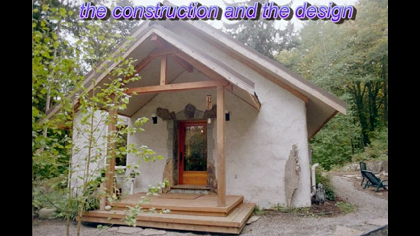 Building A Straw Bale House In France