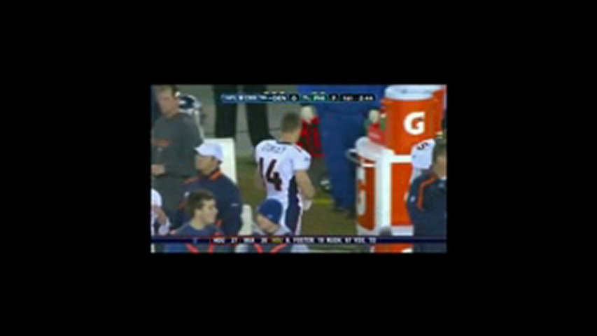Brandon Stokley Ejected For slapping Broncos vs. Eagles | PopScreen