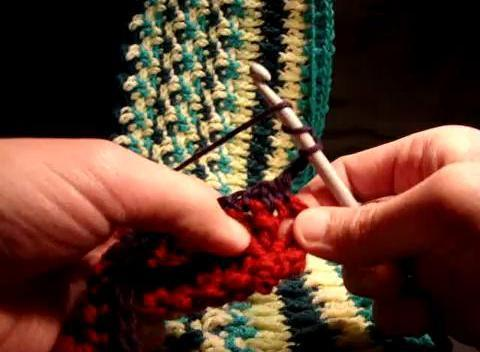 how to crochet THE RIPPLE STITCH - YouTube