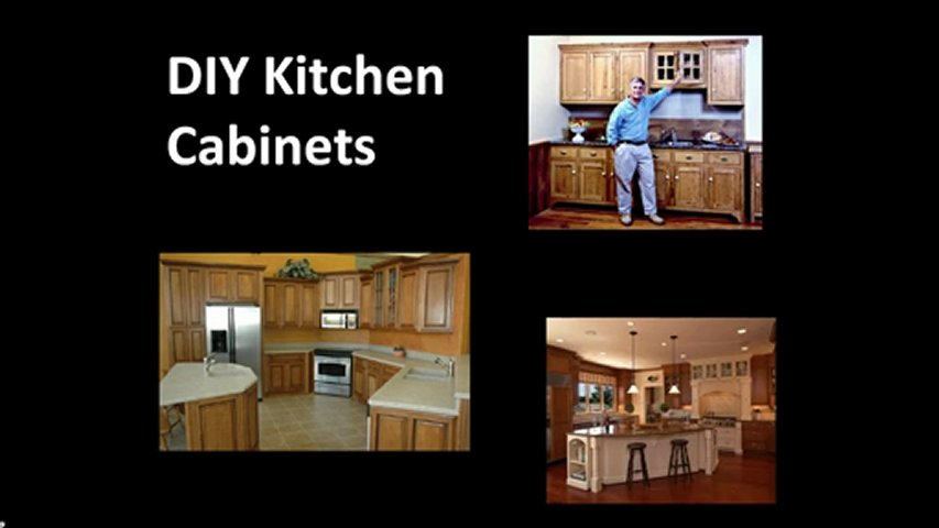 How to build your own Kitchen Cabinets