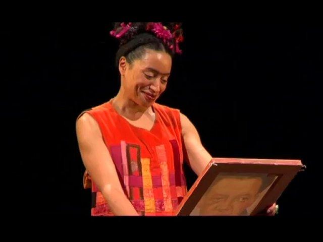 Frida kahlo attention peinture toujours fraiche th tre dejazet lupe velez popscreen - Attention peinture fraiche ...