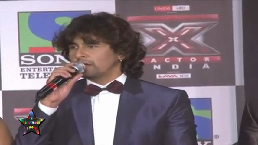 Shreya Ghoshal,Sonu Nigam & Sanjay Leela Bhansali  At Promotional Event Of X - Factor