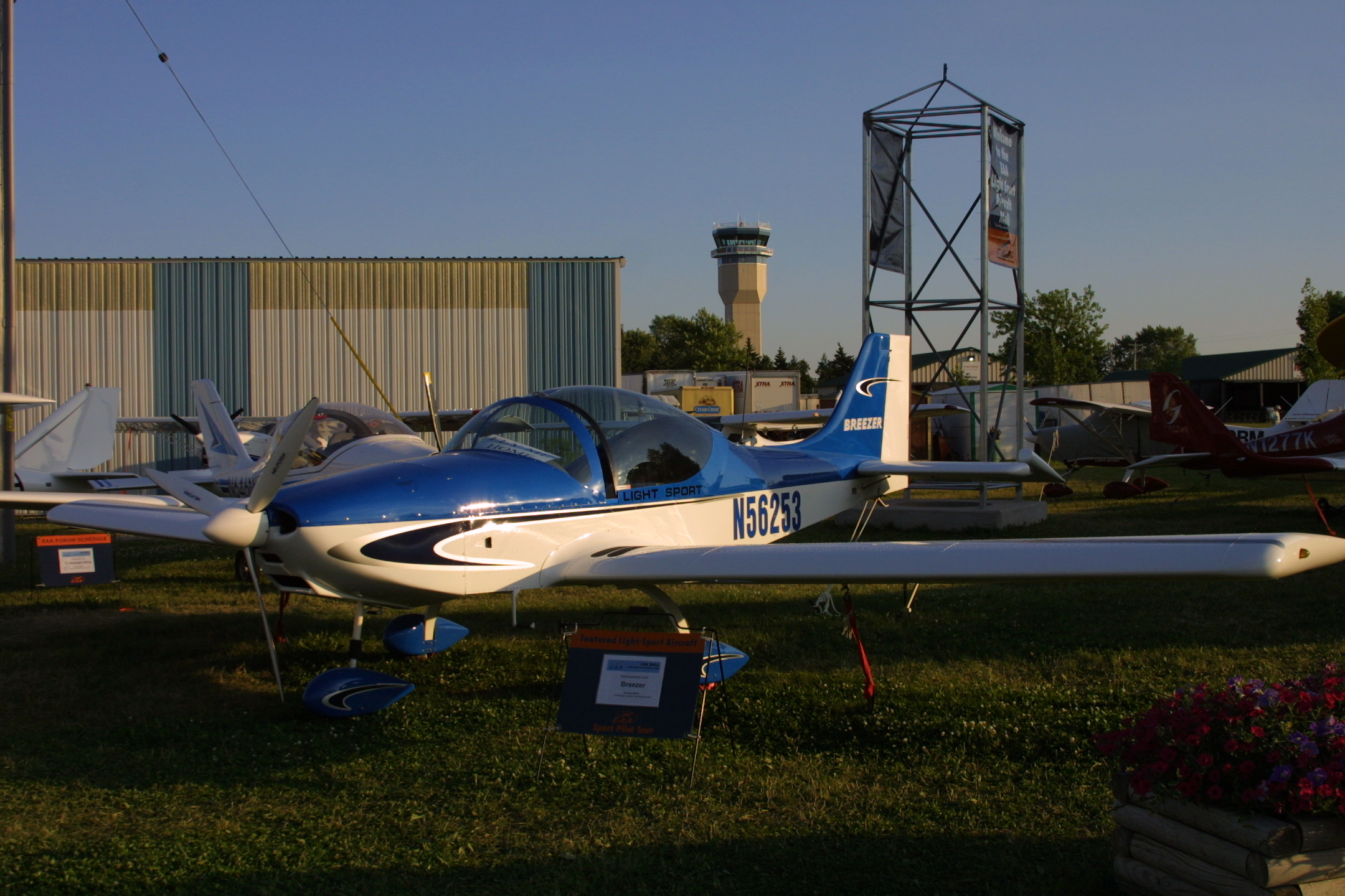 Breezer II, Breezer Aircraft, Breezer II light sport aircraft