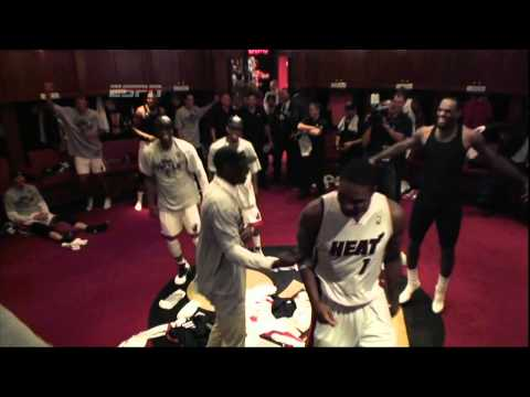 Heat celebrate game 7 win with dance party! | PopScreen