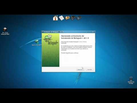 #1 - Descargar e instalar NotePad ++ v61.4 | PopScreen