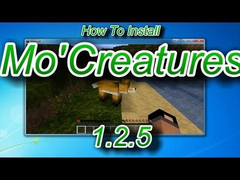 Mo Creatures! How to Install for Minecraft 1.2.5 | PopScreen