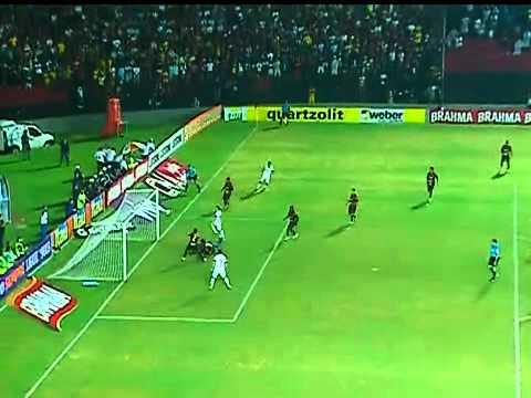 Gol contra de Bruno Aguiar: Sport 0 x 1 Internacional Pela 6ª Rodada Brasileirão 2012 | PopScreen