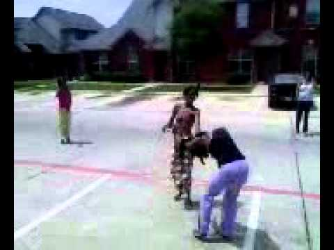 West Dallas Fight Monica V/S DeeDee | PopScreen