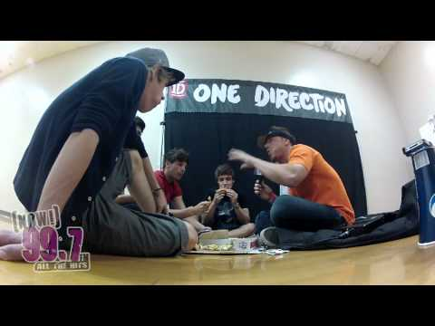Strawberry interviews One Direction - 997NOW | PopScreen