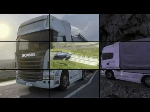 Scania Truck Driving Simulator [HD-720p] - Trailer: Game | PopScreen