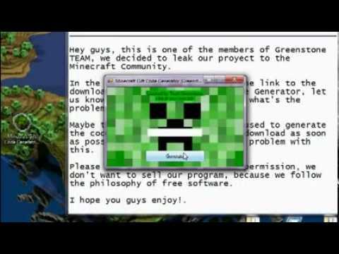 Minecraft Redeem Code Generator - 0425