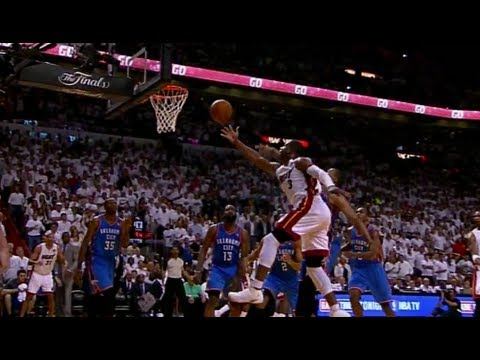 Dwyane Wade CLUTCH 4th Quarter Play - Game 4 2012 NBA Finals | PopScreen