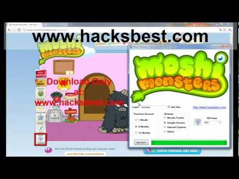 Moshi monsters Download Hack 2012 | PopScreen