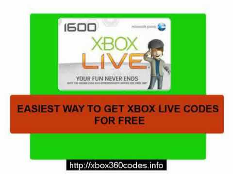 Free Xbox Live Codes 48H New!!! Free Xbox Live 48H Codes | PopScreen