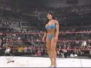WWE Divas Lita Strips Chyna | PopScreen