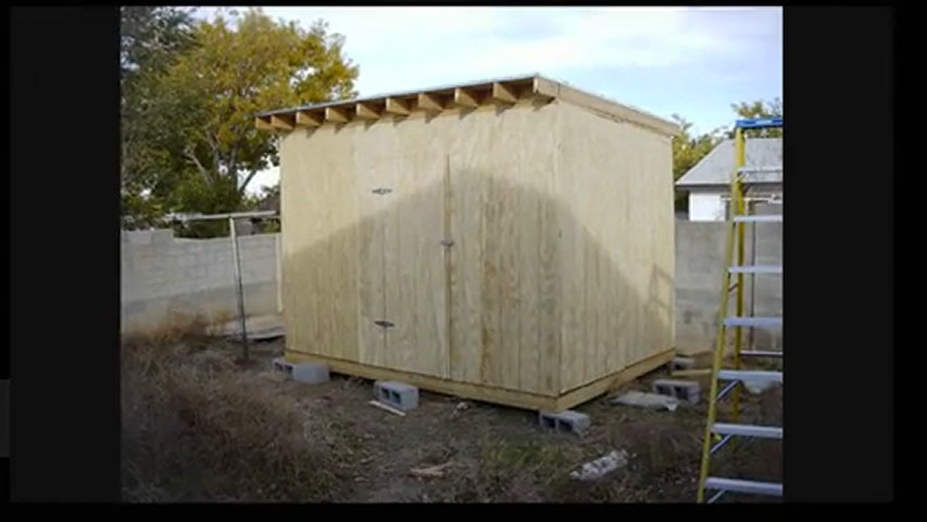 10 6 Shed Very Cheap Sheds Shed Plans Flat Roof