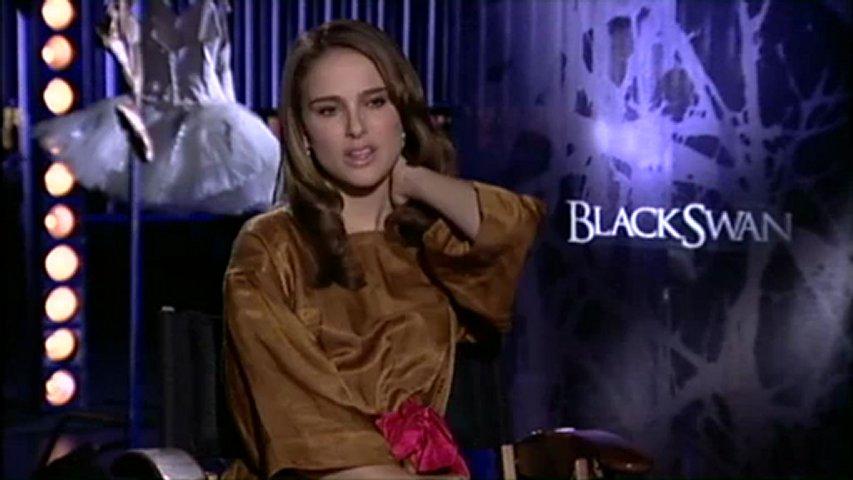 Natalie Portman Black Swan Interview Natalie Portman Talks 39 Black
