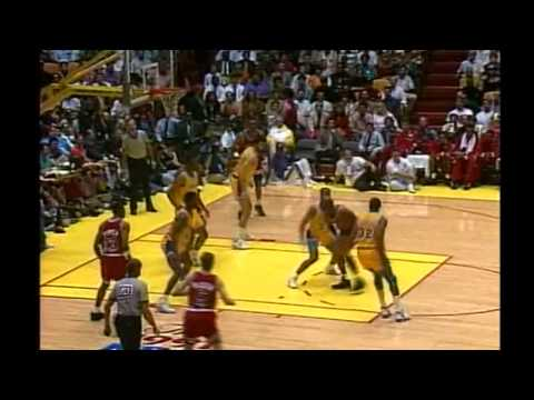 <1991>Finals-GAME5 Chicago Bulls@Los Angeles Lakers | PopScreen
