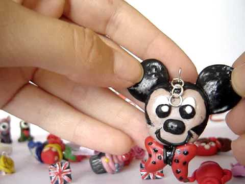 Polymer Clay Charms Colections