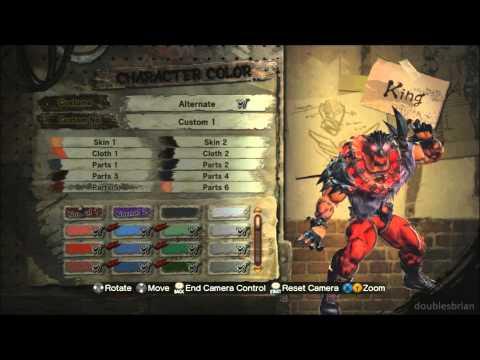 Street Fighter X Tekken - King's third alternate costume | PopScreen