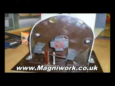 Magniwork experiment, see proof of free energy generator | PopScreen