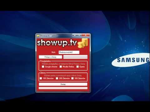 Showup.tv generator żetonów , Pobierz go za darmo,dowód,za darmo. | PopScreen