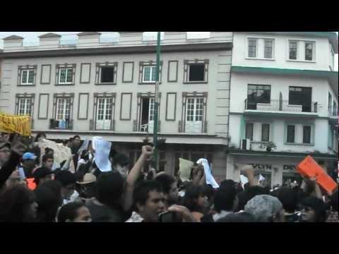 Marcha VS Fraude IFE Xalapa 03/07/12 | PopScreen