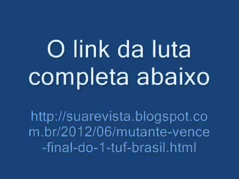 Final TUF Brasil UFC 147 Cezar mutante vs serginho Completo 23 06 12 | PopScreen