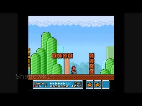 Let´s Play Super Mario 3 - World 1 Stage 3