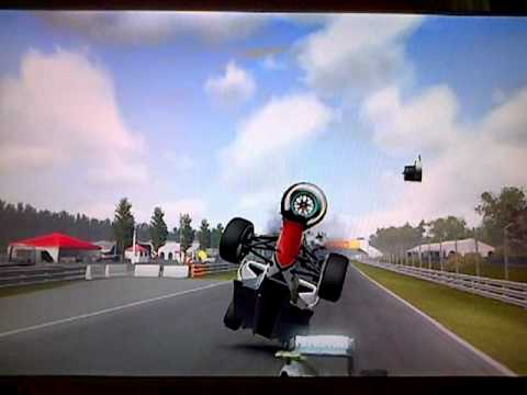 Formula Crash Formula 1 2011 Game Crashes