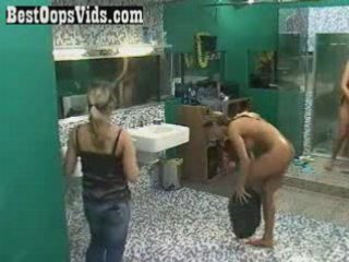 big brother Shower scene - Jazmin - | PopScreen