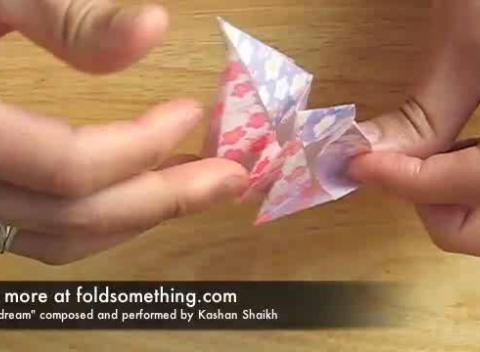 How fold origami six piece lotus flower video mincom pictures
